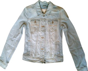 Abercrombie & Fitch denim blue Womens Jean Jacket