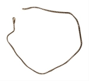David Yurman David Yurman Sterling Box Chain 15