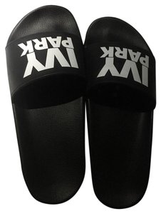 Ivy Park Black and White Sandals