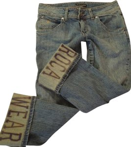 Rocawear Roca Wear Boyfriend Cut Jeans-Distressed