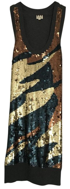 Item - Sequin Multi-colored Short Night Out Dress Size 4 (S)