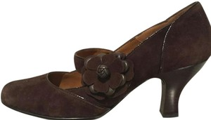 Söfft Mary Janes Sofft Heel 10 Brown Pumps