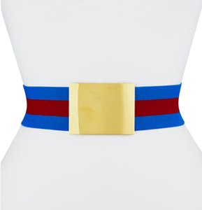 Stella McCartney striped web belt