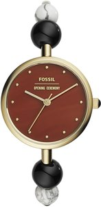 Fossil Fossil Women's Opening Ceremony Gold-Tone Bangle Watch OCF1000