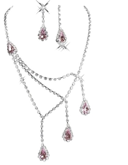 Other Pink and Crystal Jewelry set