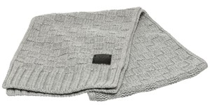 Louis Vuitton Louis Vuitton Gray Knit Helsinki Scarf
