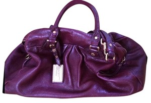 Marc by Marc Jacobs Leather Classic Holiday Satchel in Burgandy