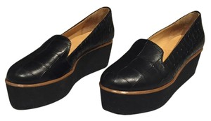 MM6 Maison Martin Margiela Platform Loafers Black Platforms