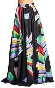 Rubber Ducky Productions, Inc. Formal Maxi Skirt Multi