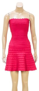 Pink Maxi Dress by Hervé Leger