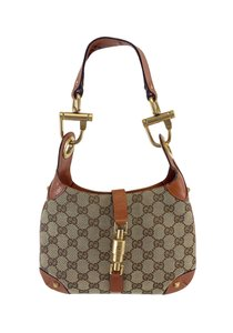 Gucci Tan Monogram Small Shoulder Bag