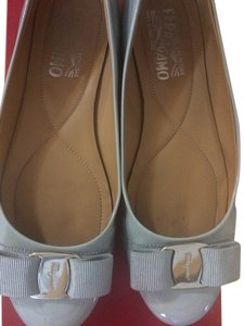Salvatore Ferragamo light blue Flats