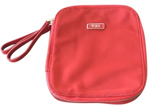 Tumi Wristlet in Red