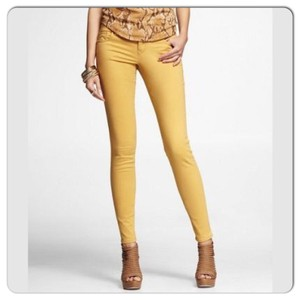 Express Honey Gold Leggings