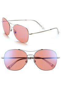 Gucci GUCCI GG4253/S 58mm Navigator Stainless Steel Sunglasses