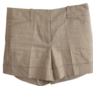 White House | Black Market Dress Shorts Tan