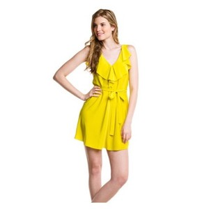 Yoana Baraschi short dress Yellow on Tradesy