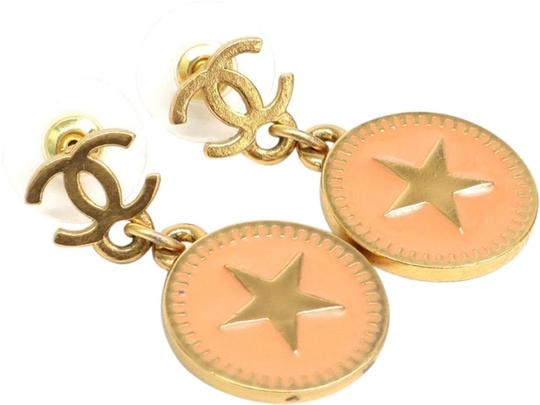 Chanel Chanel Gold Dallas Star Drop Dangle Stud earrings