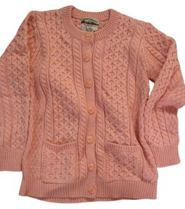 Aran Crafts Merino Wool New Cable Knit Cardigan