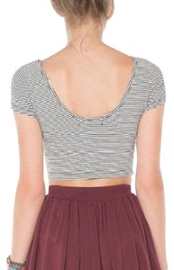 Brandy Melville Mini Skirt Burgundy/Maroon