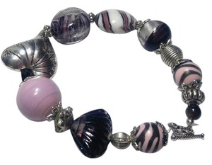 Other New Purple Handmade Bracelet Glass Crystal J2884