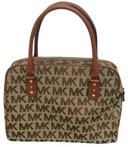 MICHAEL Michael Kors Satchel in Tan/brown