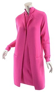Ralph Lauren RALPH LAUREN Raspberry Cashmere DRESS & SWEATER COAT Outfit