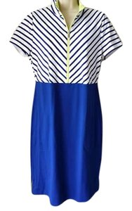 Chico's short dress Blue Golf on Tradesy