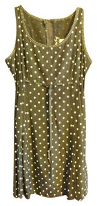 All That Jazz short dress Black w/white polka dots on Tradesy