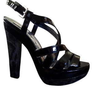 INC International Concepts - In the box! Black Patent Platforms