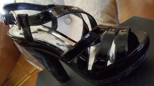 INC International Concepts - In the box! Black Patent Platforms Image 11