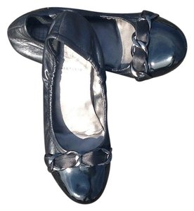 Max Studio Patent Leather Leather Flats