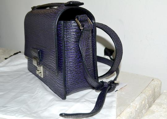 3.1 Phillip Lim Sophisticated Pashli Leather Mini Satchel in African Violet