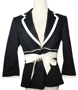 Tahari Black, white Blazer