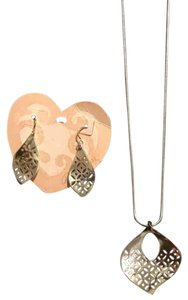 Brighton Geo Twirl Earrings & Necklace