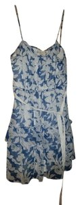 American Eagle Outfitters short dress Blue and White on Tradesy
