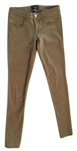 American Eagle Outfitters Khaki Stretchy Casual Khaki/Chino Pants Tan