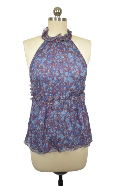 Preload https://item3.tradesy.com/images/mssp-blue-mssp-by-max-studio-blouse-size-8-m-19445972-0-2.jpg?width=400&height=650