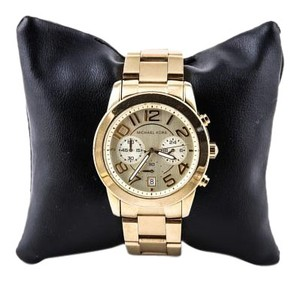 Michael Kors * MK Chronograph Mercer Gold-Tone Bracelet Watch
