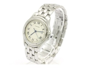 Cartier Cartier Datejust Stainless Steel Mid Size Watch in Box - 7.5 Inches