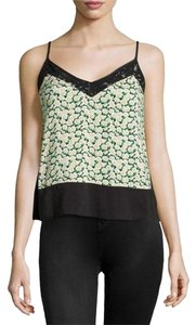 French Connection Cami Vest Top Black/Multi