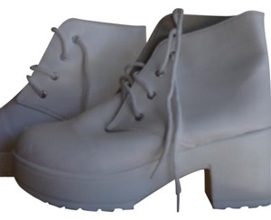Other Punk Rock Size 9m Ankle White Boots