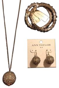 Ann Taylor Pave Jewelry Set