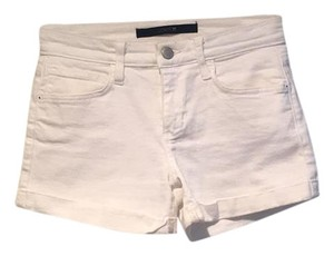 JOE'S Cuffed Shorts White