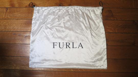 Furla Patent Leather Tote in black