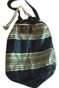 Abercrombie & Fitch Blue And Green Beach Bag