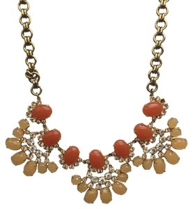 J.Crew Orange J.Crew Statement Necklace
