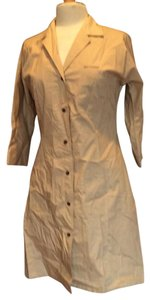 Ellen Tracy short dress Khaki on Tradesy