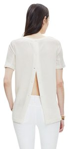 Madewell Structured Top Bright Ivory