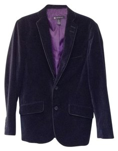 INC International Concepts Smoking Jacket Black Blazer